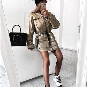Maniere Devoir cargo jacket dress